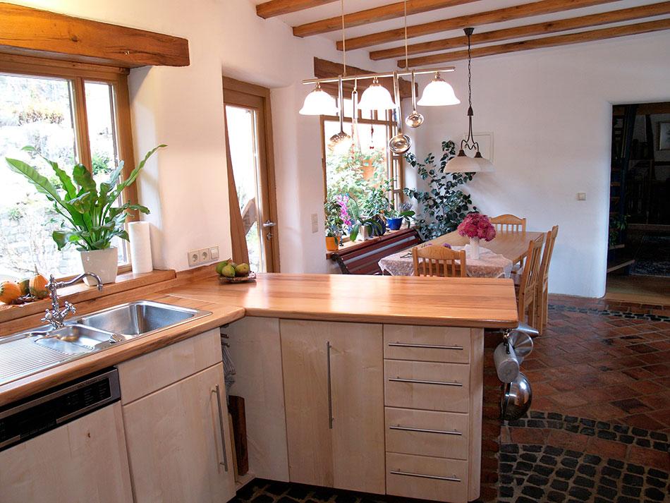 k chen tischlerei am hof massivholzbau treppen t ren. Black Bedroom Furniture Sets. Home Design Ideas